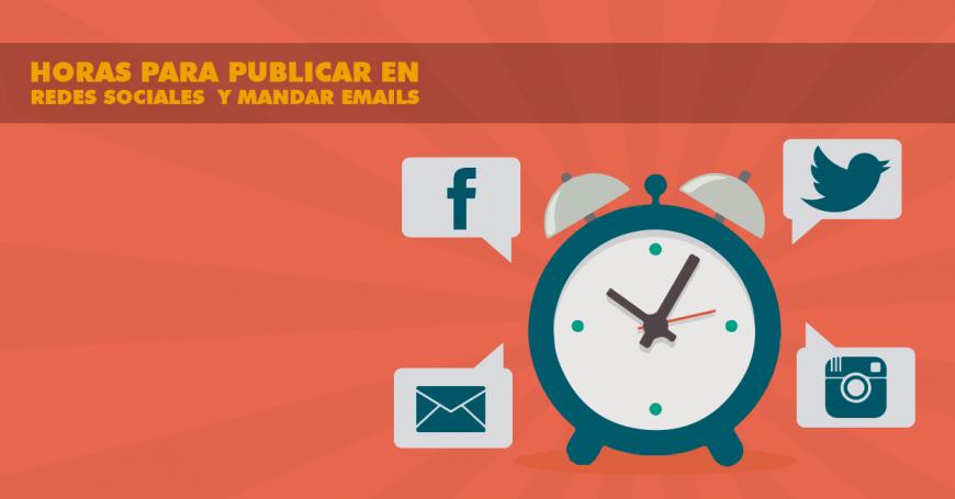 horas-para-publicar-en-redes-sociales-y-mandar-emails